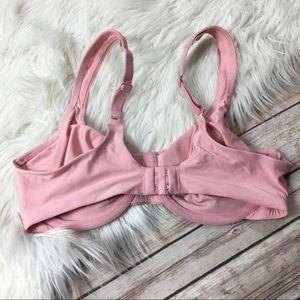 Olga Intimates & Sleepwear - Olga Bra Minimizer Pink Underwire Size 38C